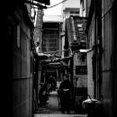 Figure Standing In The Dark Alley
