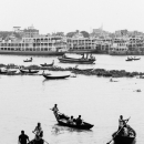 Drifting Boats On Buriganga River