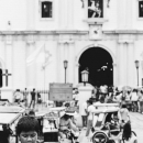 Agape Boy In Front Of Vigan Cathedral