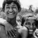 満面の笑みの男の子たち