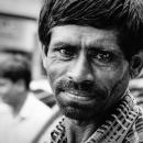 Glance Of A Rickshaw Wallah
