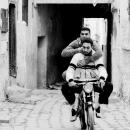 Motorbike In The Alleyway