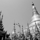 Shwedagon Pagoda Was Towering