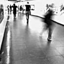 Figures In The Pedestrian Subway