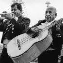 Mariachi's Trumpet And Guitarrón