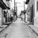 サンクリストバル・デ・ラスカサスの長閑な道