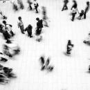 東京ミッドタウンの人々