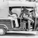 Genial Smile On An Auto Rickshaw
