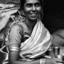 Mother Wearing A Saree