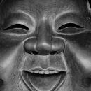鷲神社の笑う顔