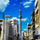 Skytree In The Bue Sky