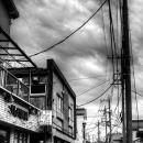 住宅街の中の道