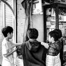 Boys In Toy Shop