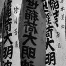 Banners In Yoyogi Hachiman-Gu