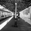 北池袋駅のプラットホーム