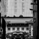 ビルとビルの間に歌舞伎座