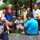 Men Around The Xiangqi Board