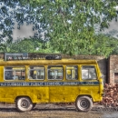 Yellow School Bus @ India