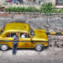 Yellow Taxi @ India