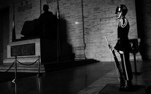 Guardsman In Chiang Kai-Shek Memorial Hall