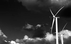 Windmills Under The Clouds