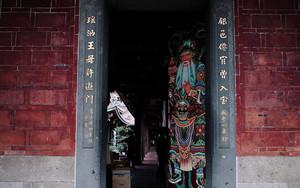 大龍峒保安宮の扉