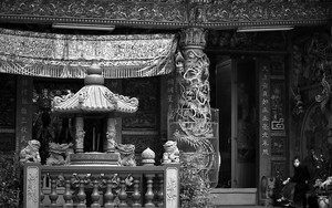 Lady In A Decorative Temple
