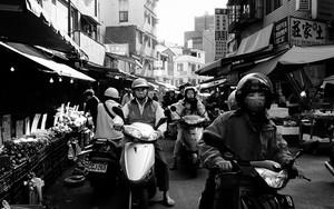 People Riding Motorbikes