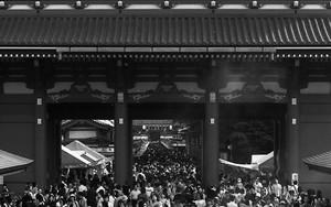 Crowd In Senso-Ji