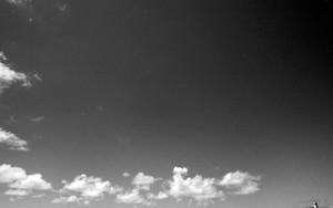 雲の先頭には天文台