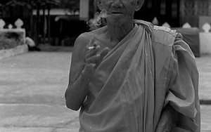 Old Monk Was Smoking In The Precinct