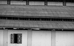 Window In Wat Xieng Jai