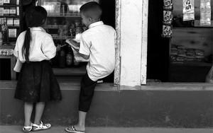 雑貨屋にいた少年と少女