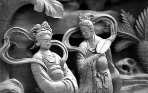 Celestial Nymphs In Taishakuten