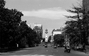 Clock Tower In The Fort Of Colombo