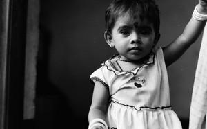 Little Girl With Bindi