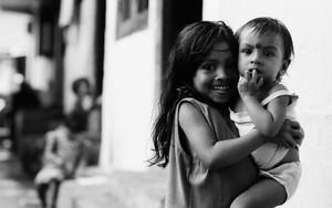 Girl Smiles To A Stranger