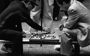 Men Playing Go