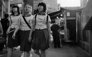 ソウルの三人の女子高生