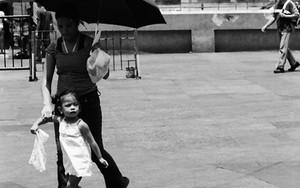 Umbrella In Front Of Quiapo Church