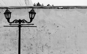 Street Lamp In Intramuros