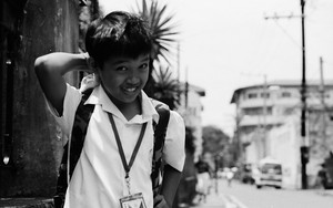 Shy School Boy