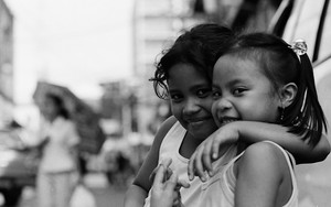 Sidelong Glance Of Two Girls