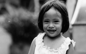 Carefree Smile Of Girl