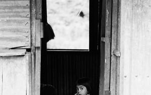 Gawking Girl At The Door