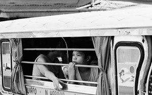Car Window Of A Jeepney