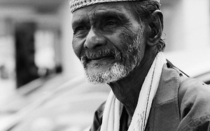 Muslim Driver Of Trishaw