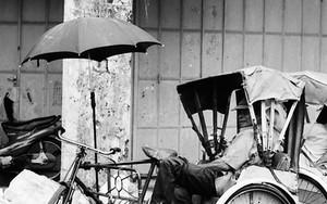 Trishaw With An Umbrella
