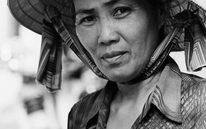 Woman With A Conical Hat