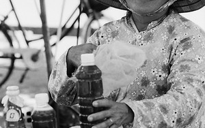 Woman Selling Honey With Smile